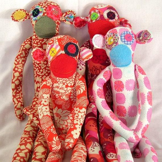 Liberty Fabric Monkey Gallery