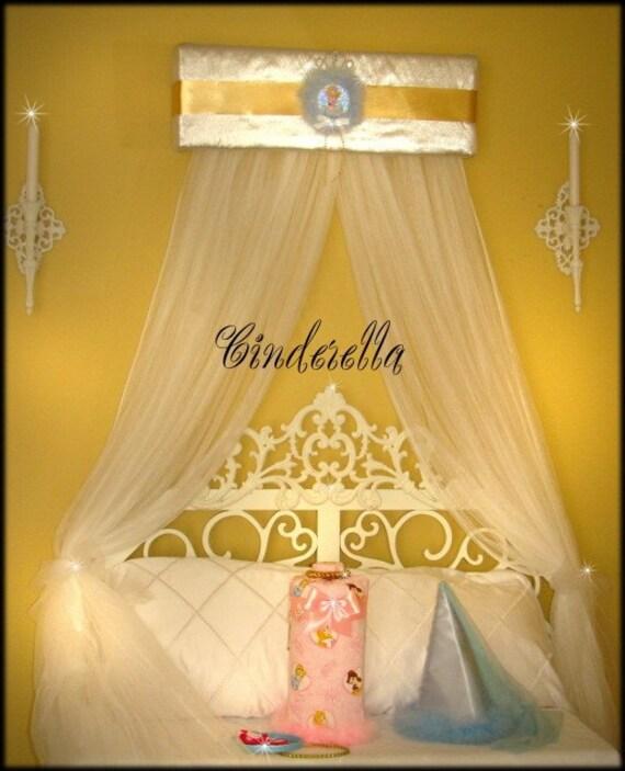cinderella disney bed canopy crown princess teester free