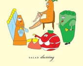 Salad Dressing Birthday Card by She's SO Creative (BD152)