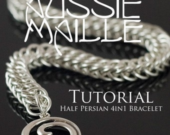 Chainmaille Tutorial - Half Persian 4in1 Bracelet