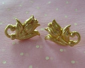 Tulip Vintage Post Earrings