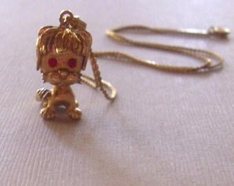 Adorable Lion Pendant Necklace