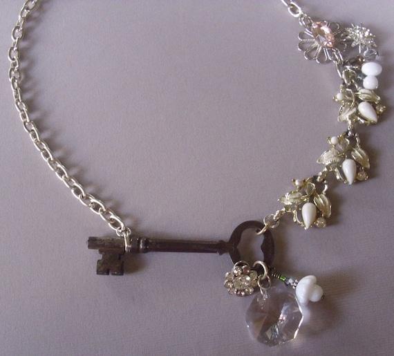 Skeleton Key to the Garden of Life Necklace