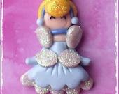 Princess Parade-Cinderella bead/pendant/bow center