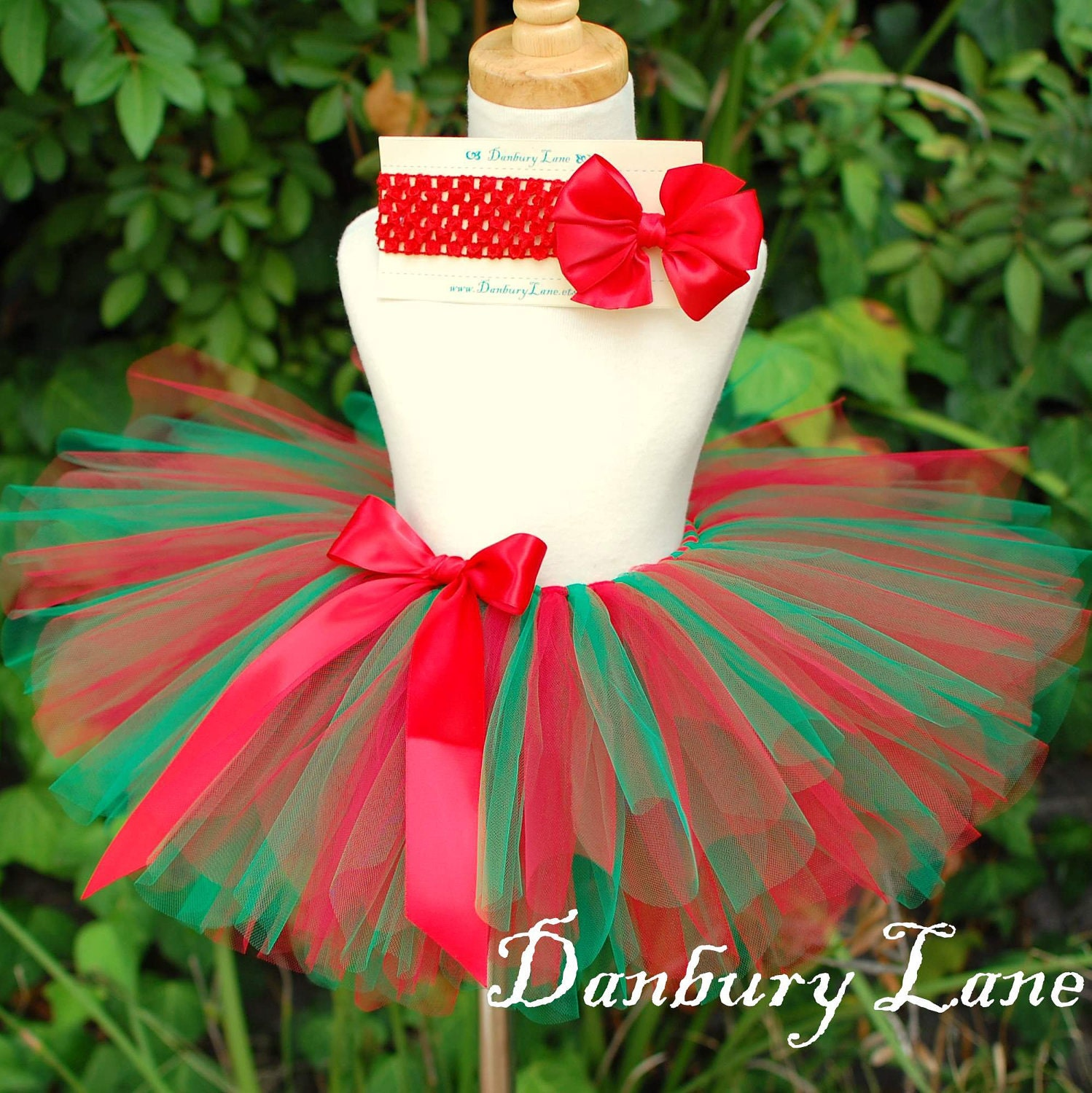 Baby s 1st christmas tutu only red holiday dress by danburylane