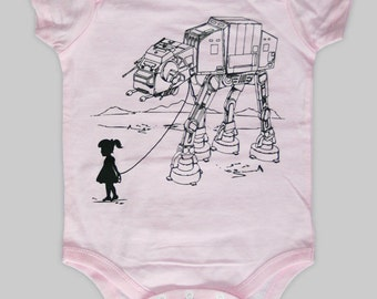 My Star Wars AT-AT Pet - Baby Onesie Bodysuit ( Star Wars baby onesie )