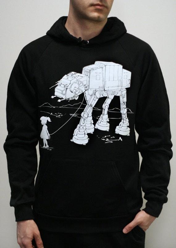 My Star Wars AT-AT Pet - Mens / Unisex Pullover Hoodie ( Star Wars / ATAT hoodie)
