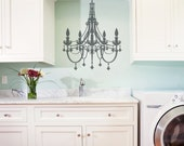 Fancy Chandelier Vinyl Wall Decal Graphic