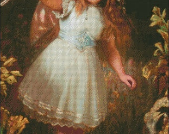 A LITTLE STAGE FAIRY cross stitch pattern No.210