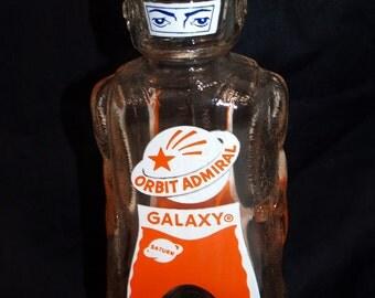 Galaxy space man robot bottle coin bank Orbit Admiral