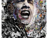 "Title: ""I Am Not A Perfect Man"", 27x39 Inch Obama poster. Signed offset lithograph by artist O"