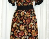 Boutique Prairie Style Peasant Dress - Size 6 Ready to Ship