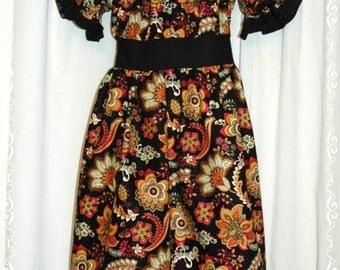 Boutique Prairie Style Peasant Dress - Size 6 Ready to Ship