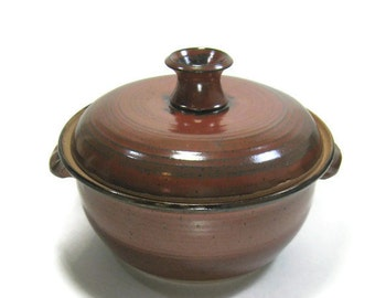 Casserole Dish with lid - Bakeware - Dining - Serving - Cookware - Kitchen - Food Prep -Handmade Pottery