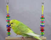 Parakeet/Budgie, Canary, Finch, Parrotlet Size Abacus Swing - Toy for small birds