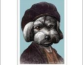 Rembrandt Havanese Van Rijn signed print