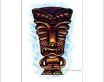 Tiki Spirit Totem