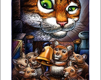 Belling the cat fable myideasbedroom com