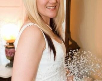 Swarovski Crystal Bead Bridal Bouquet Swarovski Beads Wire Wrapped Wedding Bouquet Stainless Steel