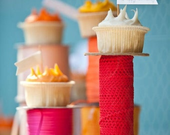 Custom Cupcake Flags-12