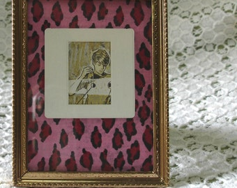Art Collage Science Leopard Print