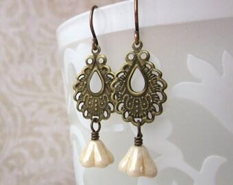 Ivory Tower Earrings