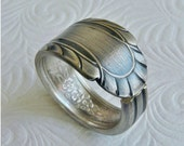 Spoon Ring Antique Silver Wentworth 1938