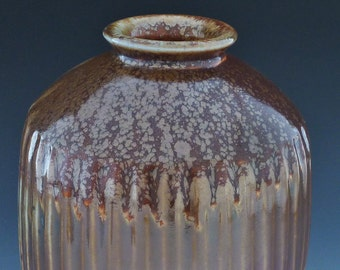Vessel with Lid Wood Fired Anagama Kiln-178