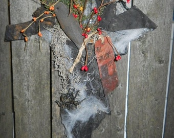 All Hallows Eve Witch Stocking