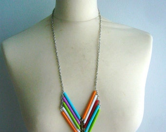 SALE Chevron necklace in many colours