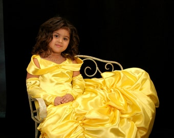 Private sale for you BELLE Beauty and the Beast Costume size 2/3 per your childs measurements