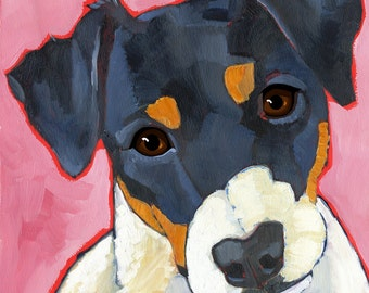 Jack Russell No. 1 - magnets, coasters and art prints