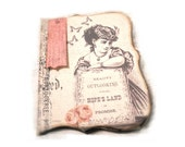 Travel Art Journal, Victorian Journal, Diary, Handmade Journal, Memory Notebook, Scrapbook Diary, Secret Pocket Journal, Gifts for Her
