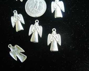 Angel charms pendants,Heavenly Host,  silver (6)  OVERSToCK  SaLE Buy 3, get 4   Team ESST, OlympiaEtsy, WWWG, TeamBJD, SupportingArtists