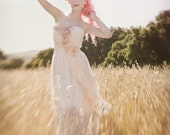Must Have Been the Roses - Bohemian, Romantic, Feather Detail Wedding Gown