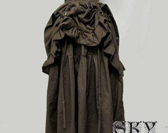 Bustle Up Skirt in Full Length