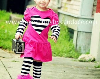 Black-White girls ruffle leg warmers - Perfect for Halloween costume, Birthday, Photo prop,  fits crawling baby 6m to girls 6X
