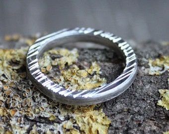 Mens band, Sterling silver mens ring, Ring for man, Unisex silver band, Stackable silver ring, Made to order in your size