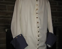 Custom made French and Indian War French Marine Coat uniform