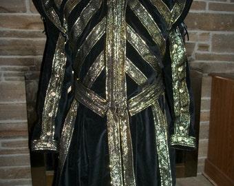 Custom made Tudors style jerkin doublet Renaissance Nobleman