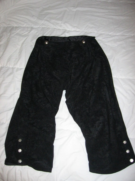 Renaissance Pirate or Colonial POTC Jack Sparrow male or female breeches pants