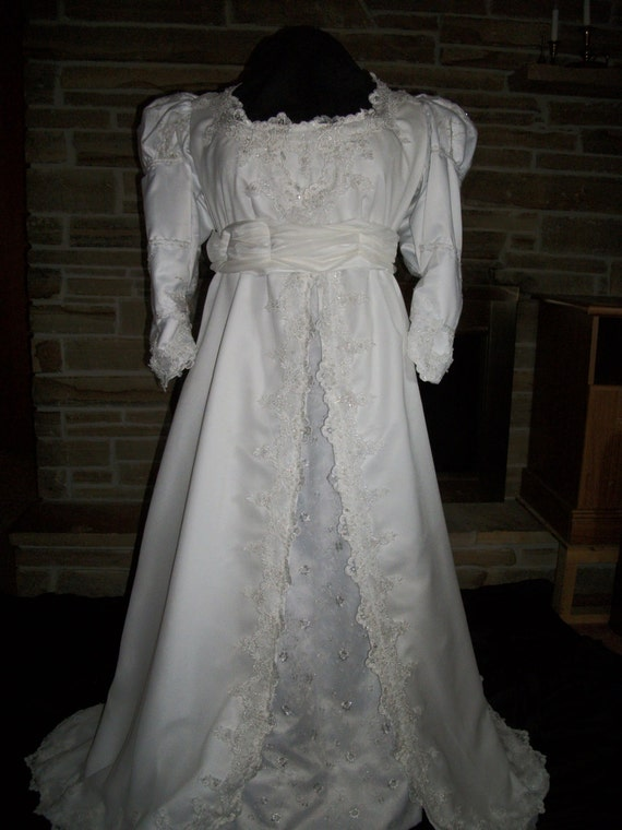 Custom made ever after wedding gown rennaissance bridal with for Ever after wedding dress