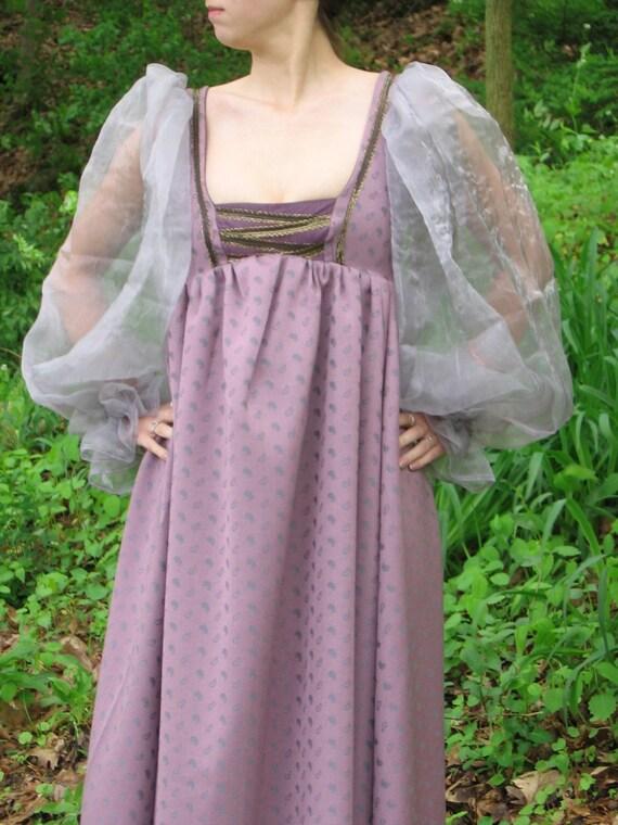 Custom made Renaissance Medieval Celtic Tudor wench gown dress costume