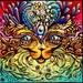 Bast, Cat Goddess giclee stretched canvas print