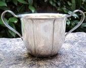 Vintage Silverplate Cream and Sugar Set -- WM Rogers