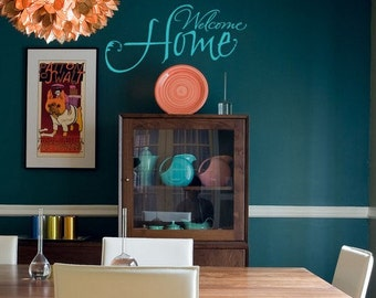 Welcome Home vinyl wall decal sticker