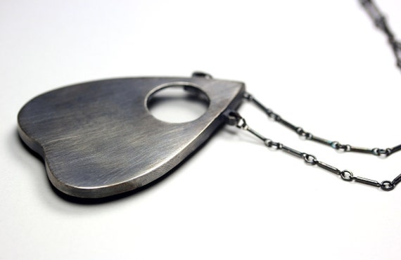 "original ""large"" planchette oracle necklace. - BloodMilk"