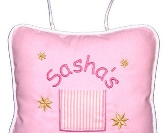 Tooth Fairy Pillow - Personalized