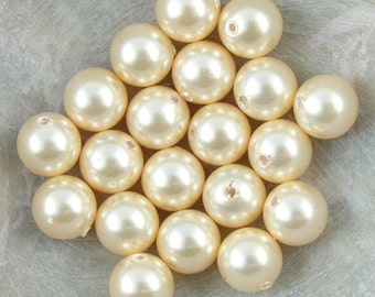 10 pcs Swarovski Element 5810 10mm Round Ball Crystal Pearl Beads Light Green