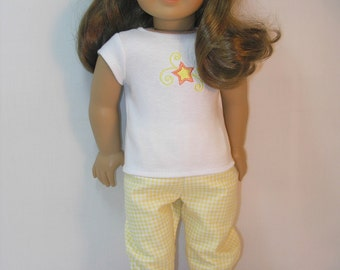 18 Inch Doll Clothes Pajamas Slippers -- 4032